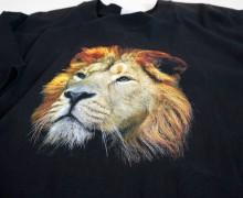 Majica s tiskanim logotipom