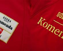 Softshell jakna z vezenjem Godba Komenda