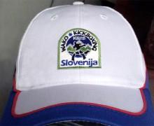 Vezenje logotipa KBZS na kape spredaj