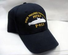 Vezenje logotipa Park vojaške zgodovine Pivka