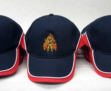 Vezenje logotipa za gasilsko društvo