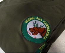 Vezenje logotipa Vodnik psa Krvosledca