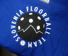 Vezenje logotipa Slovenian Floorball Team