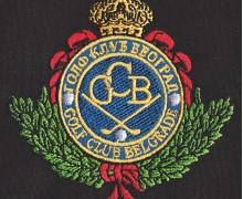 Vezenje logotipa Golf klub Beograd