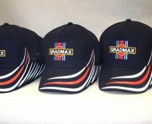 Vezenje logo GRADMAX na kape