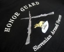 Vezenje logotipa Častna četa SV