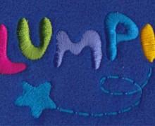Vezenje logotipa Lumpi