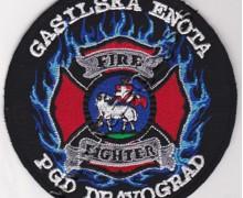 Našitek gasilska enota PGD Dravograd