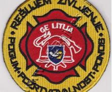 Našitek gasilska enota PGD Litija