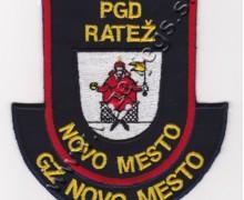 Našitek PGD Ratež