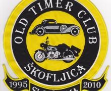 Našitek Old Timer klub Škofljica
