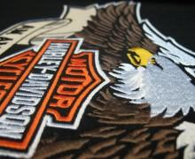 Našitek Harley Davidson