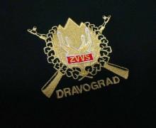 Vezenje logotipa OZVVS Dravograd