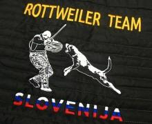 Vezenje Rottweiler team Slovenia