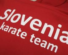 Tisk logotipa Karate team Slovenia