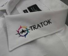 Vezenje logo Tratok na srajce