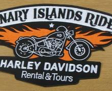 Vezenje Canary Harley Davidson rides