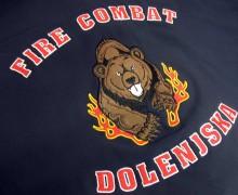 Vezenje logotipa Fire combat Doenjska