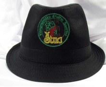 Vezenje logotipa Štuc na klobuk