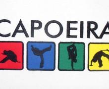 Vezenje logotipa Capoeira na majice