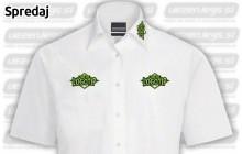 Vezenje na sprednjo stran srajce