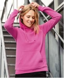 Ženski pulover s kapuco Basic