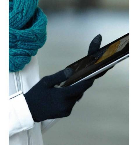 Pletene rokavice za pametne telefone