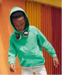 Otroški lahek pulover s kapuco